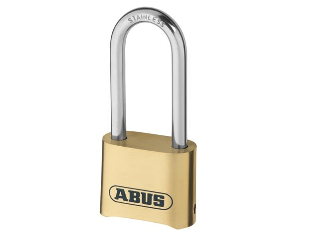 Abus 180IB/50 Brass Combination Padlock Long Shackle