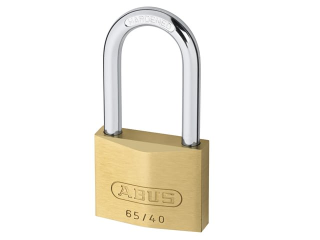 Abus 65/40 HB 40mm Brass Padlocks Long Shackle