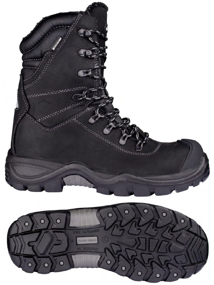 Toe Guard Alaska Lined Safety Boot (from Snickers)