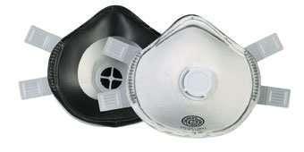 Dust Moulded Mask FFP3V Valved Per 5