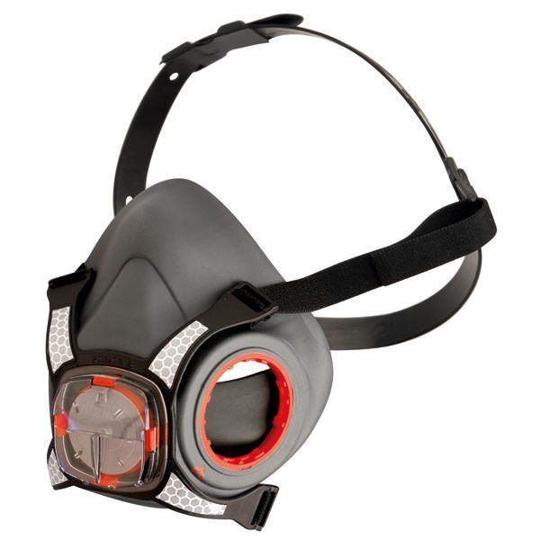 Force 8 Half Mask with Typhoon Valve