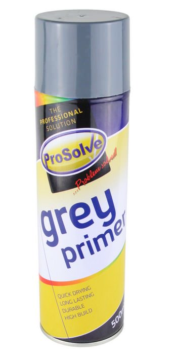 500ml Grey Aerosol Primer Spray