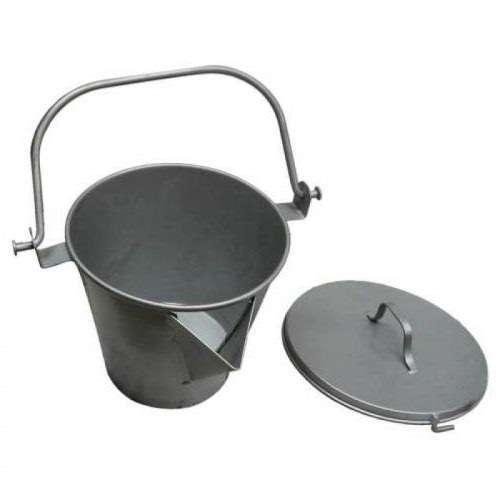 V Lipped Heating Bucket c/w Lid