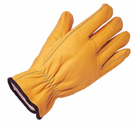 Heavy Duty Thinsulate Lined Leather Glove