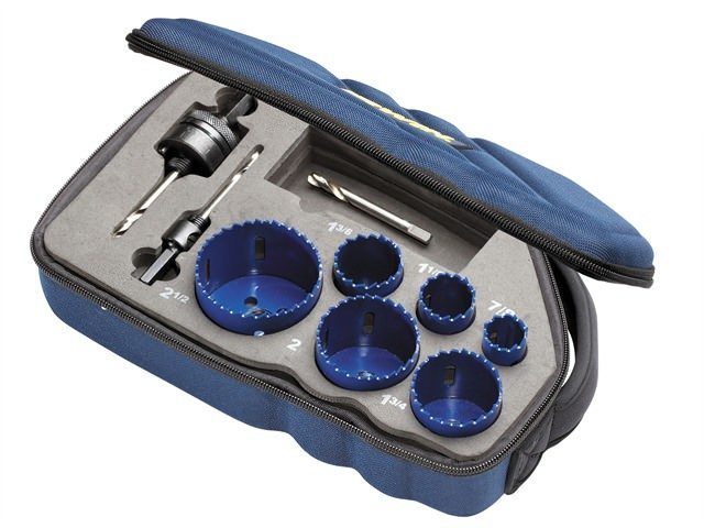 Irwin Bi-metal Holesaw Kit 600L
