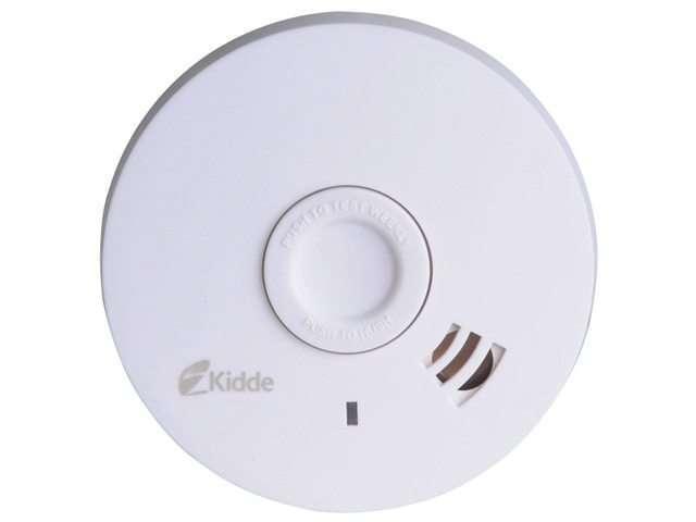 Kidde Smoke Alarm - Optical Photoelectric 10 Year Sealed Battery