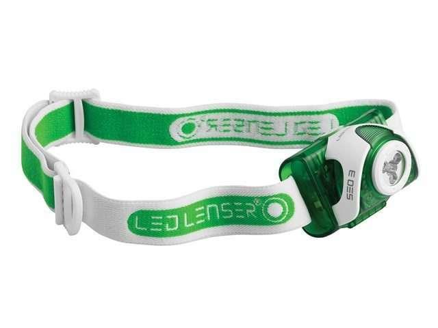 Led Lenser SEO3 Head Lamp Green