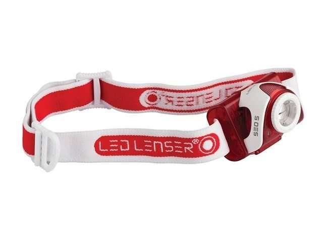 Led Lenser SEO5 Head Lamp Red