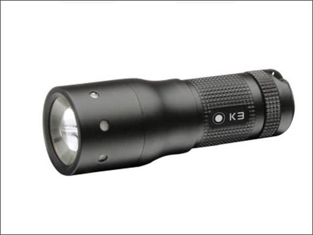 Led Lenser K3 Black Key Ring Torch