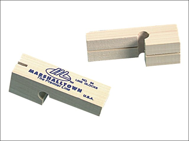Marshalltown Hardwood Line Blocks x 2