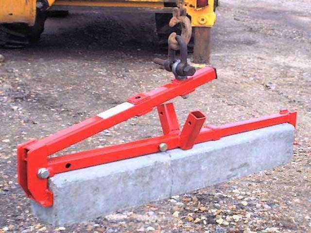 Mustang Mechanical Kerb Lifter / Slab Lifter