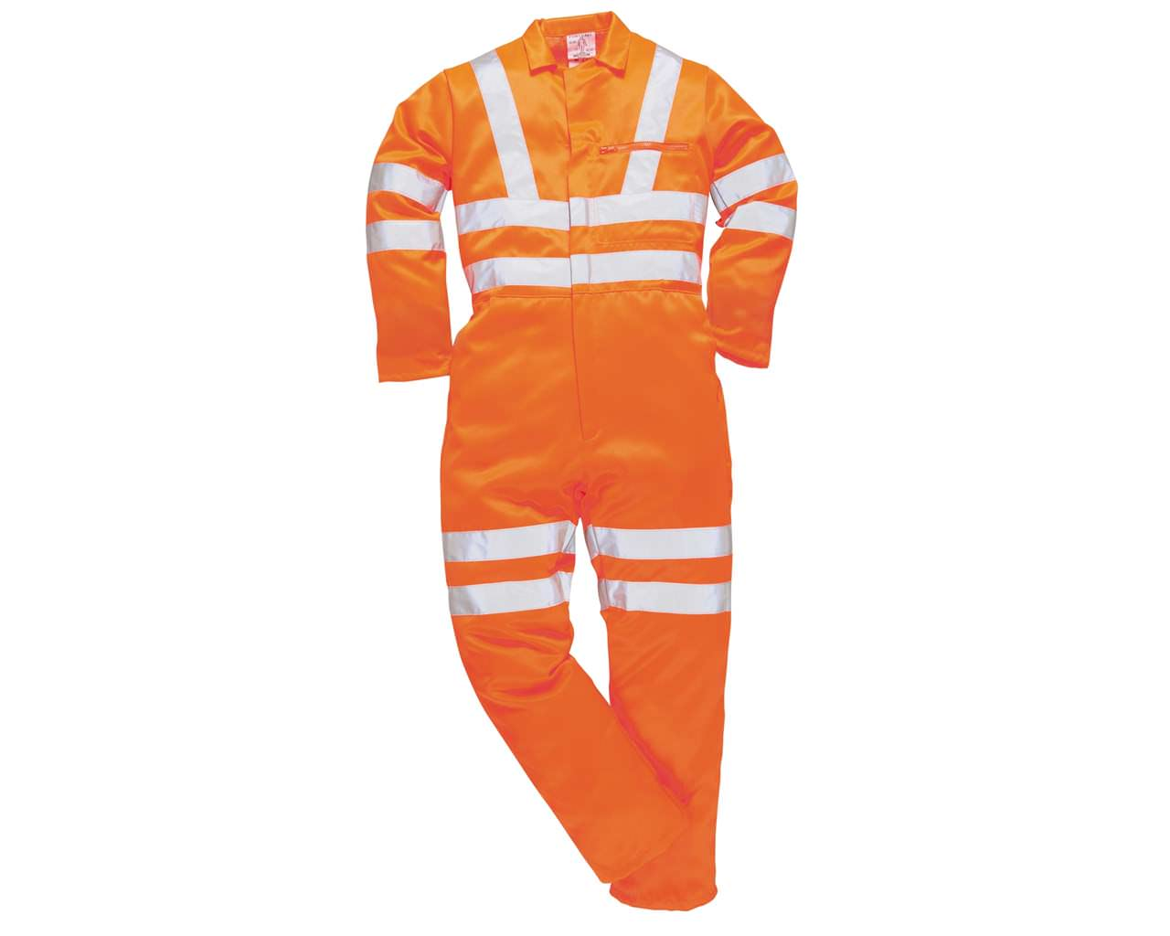 Hi-Vis Orange Overall, Railtrack Standard