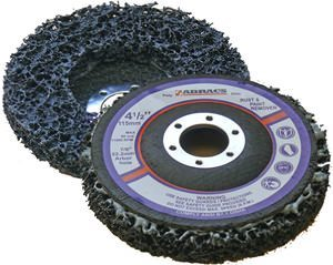 115mm Black Abrasive Poly Cleaning Disc