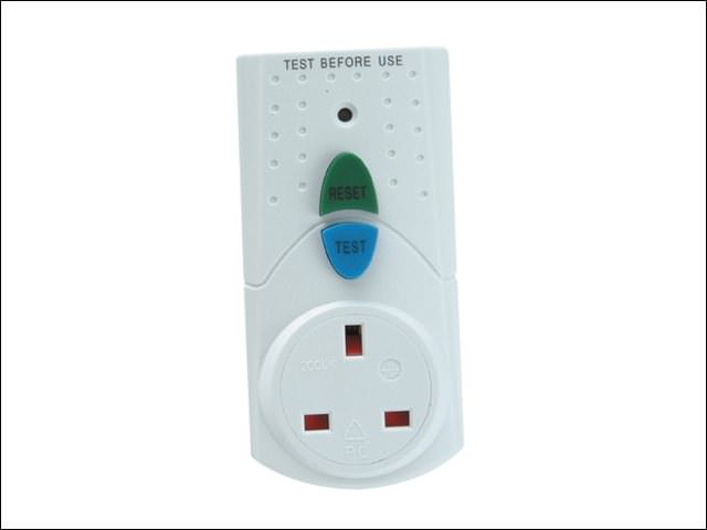 Faithfull RCD Circuit Breaker Adaptor