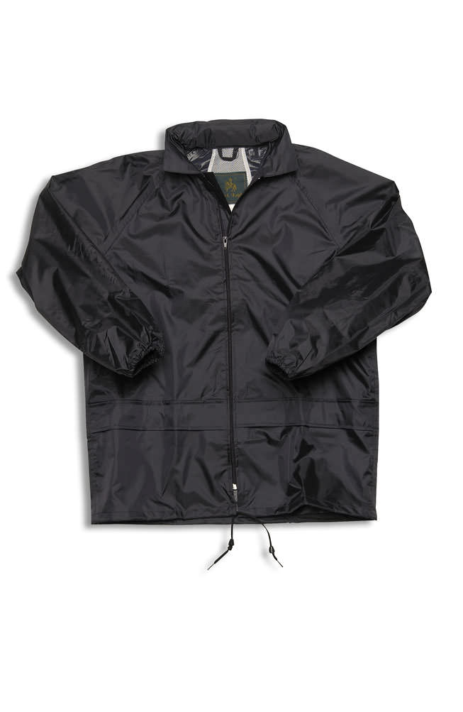Black Knight 100% Rain Jacket