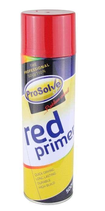 500ml Red Aerosol Primer Spray