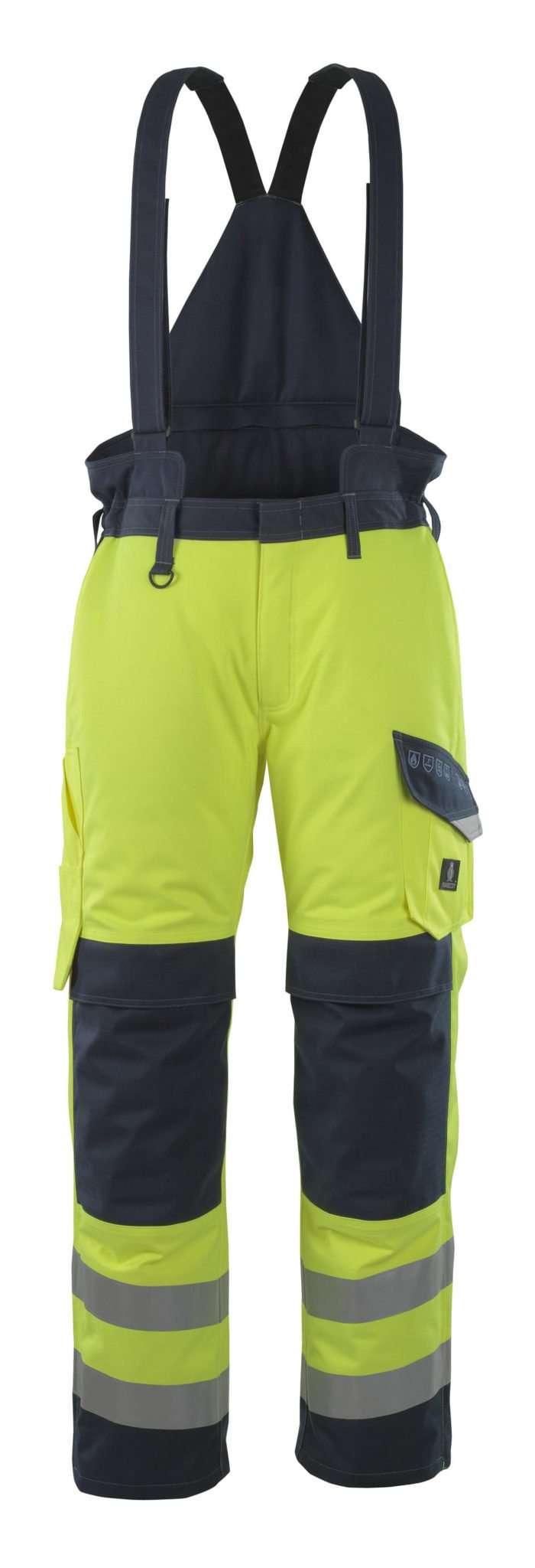 Mascot® Renens Flame Retardant Yellow Winter Trousers