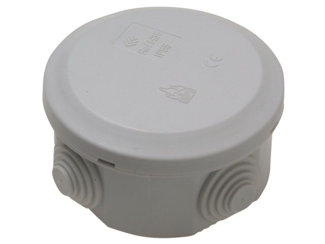 IP44 Junction Box 5T 70x70x40mm