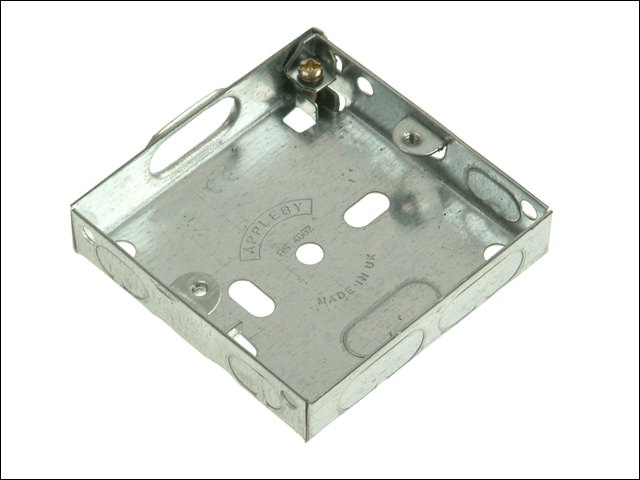 Metal Box 16 mm 1 Gang