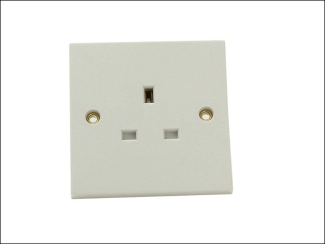 Unswitched Socket 1 Gang 13A