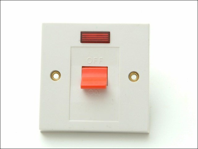Flush DP Switch & Neon 30A