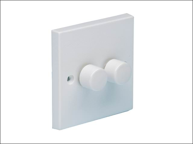 Dimmer Switch 400 Watt 2 Gang