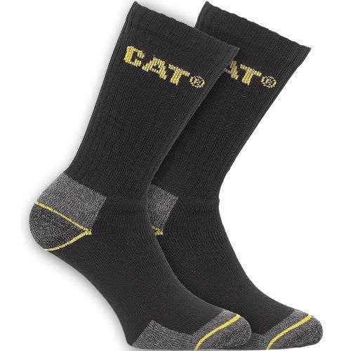 CAT Crew Work Socks 3 Pairs