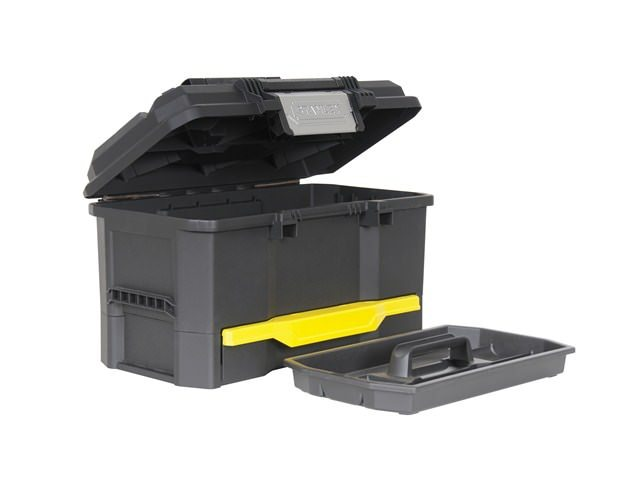 Stanley One Touch Toolbox With Drawer