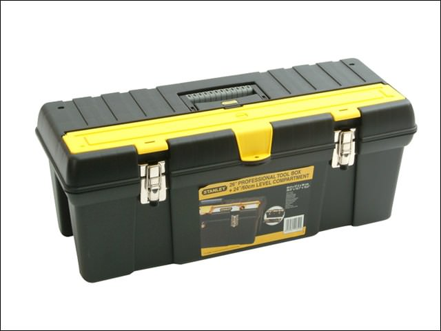 "Stanley 26"" Toolbox with Level Compartment"