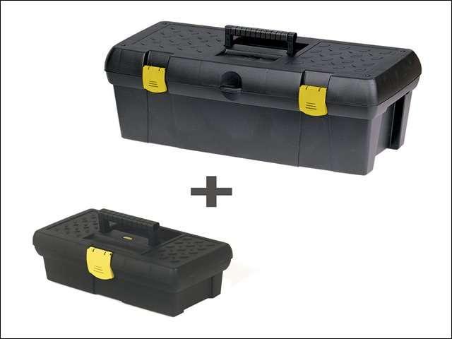 Stanley Toolbox 19in + 12 1/2in Toolbox