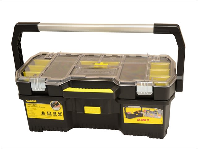 Stanley Toolbox With Tote Tray Organiser 61cm (24 in)