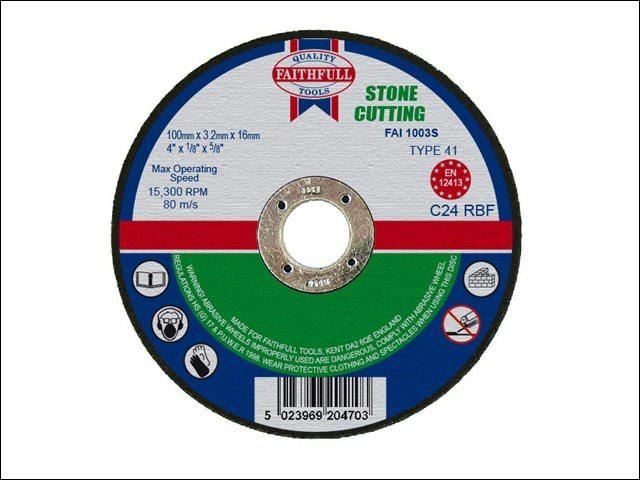 Carbon Cut Off Disc for Stone