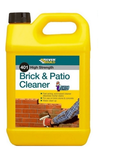 Everbuild Brick & Patio Cleaner Acid 5L