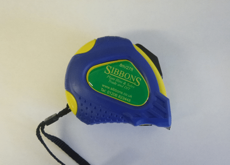 8m Sibbons Tape Measure