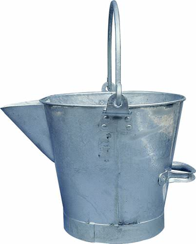 3g V Lipped Metal Bucket
