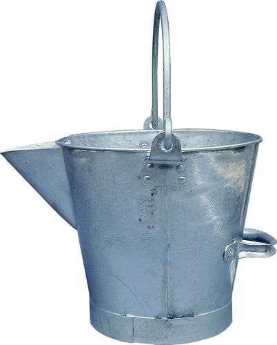 3g V Lipped Metal Bucket