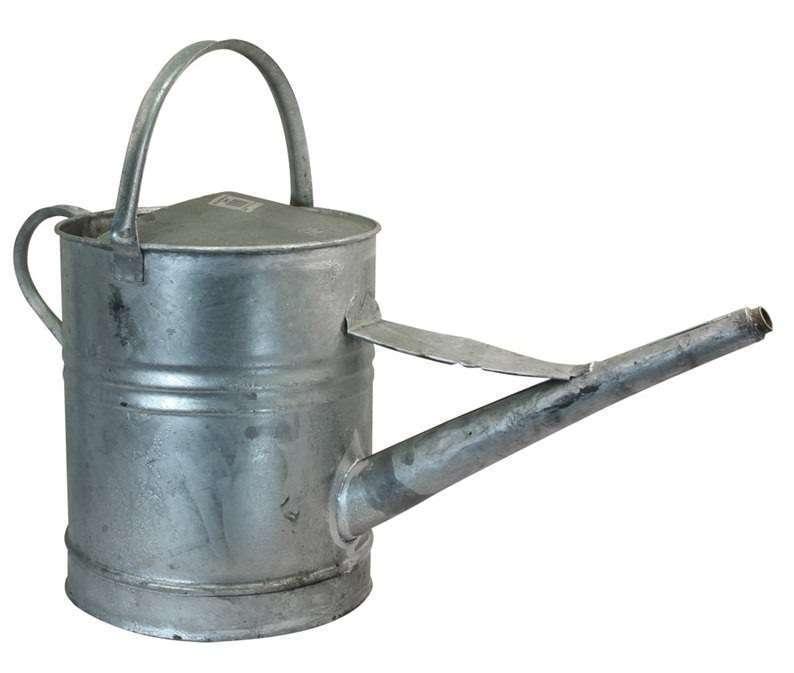 2g Galvanised Watering Can
