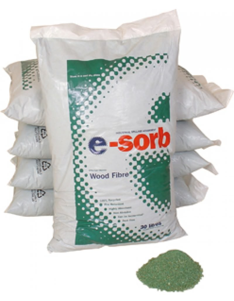 E-Sorb Fire Retardant Wood Fibre 30L