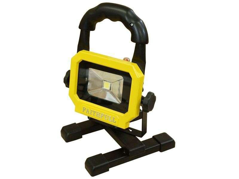 Faithfull Rechargeable LED Work light with Magnetic Base