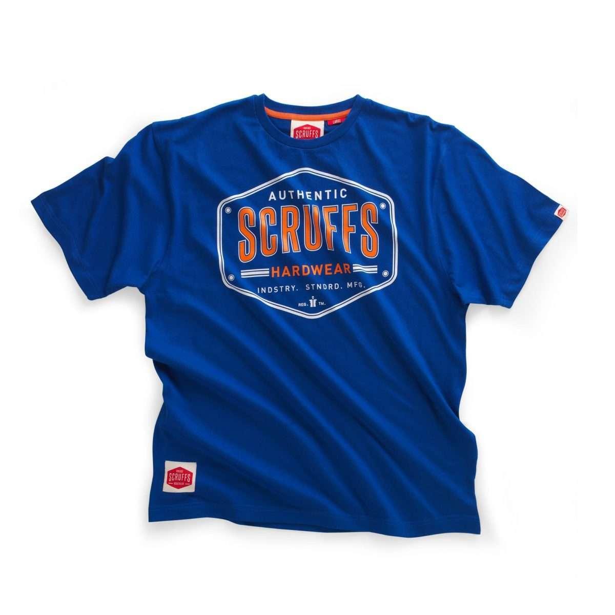 Scruffs Bold Authenic Vintage Printed T-Shirt