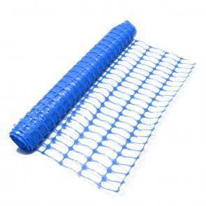 1x50m Blue Barrier Fencing Roll