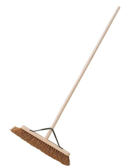 Natural Coco Platform Broom