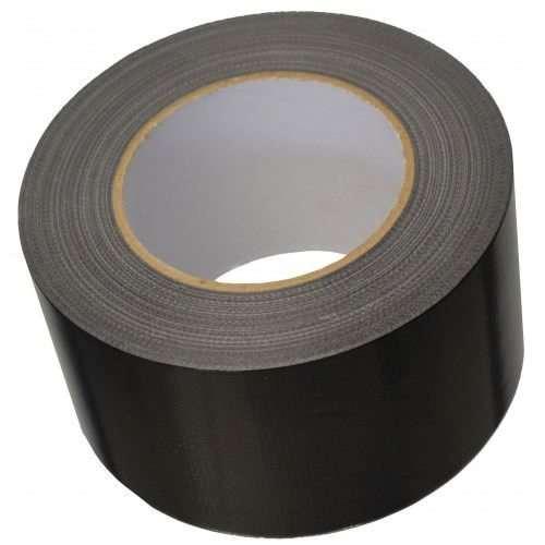 75mm x 50m Black Duct Tape