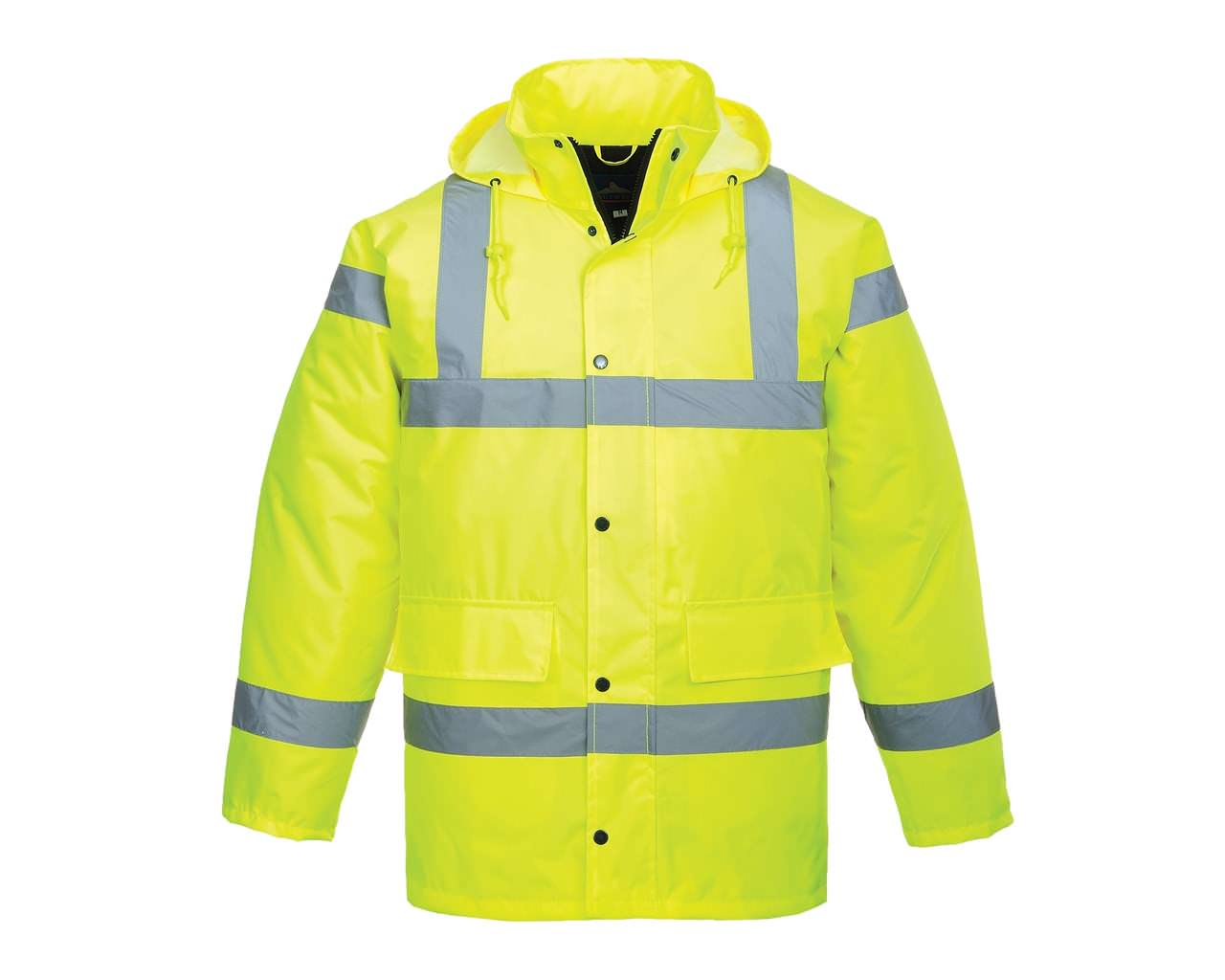 Hi-Vis Yellow Coat