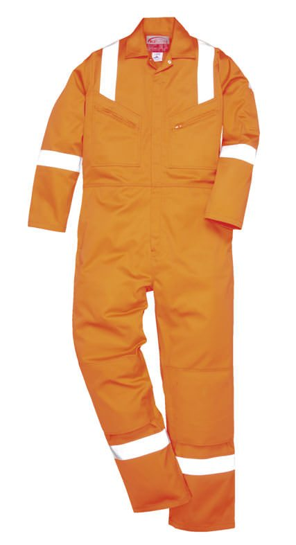 Hi-Vis Orange Flame Safe Overall