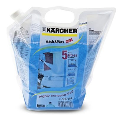 Karcher Wash & Wax Pouch (500ml Concentrate)