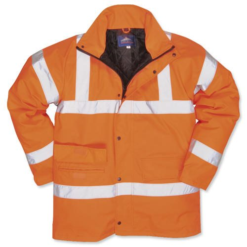 Railtrack Orange Coat