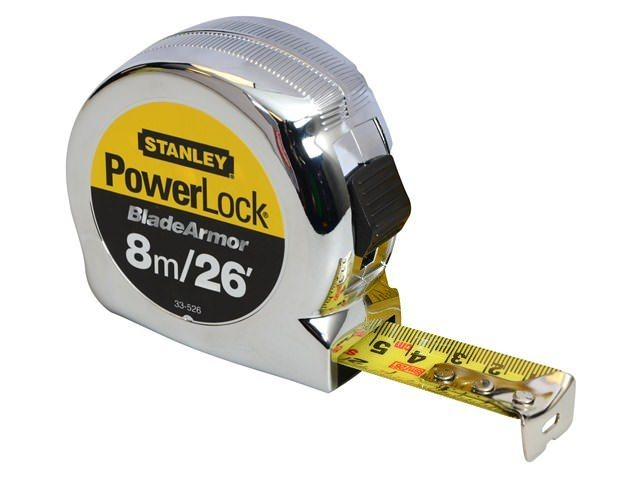 Stanley Powerlock Rule Blade Armor 8m / 26ft