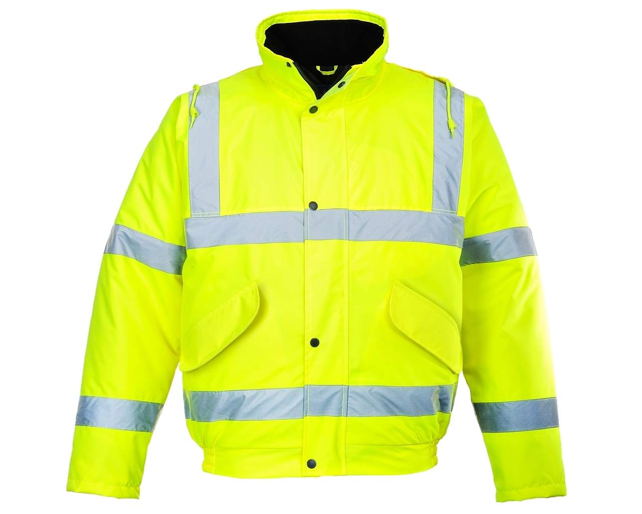 Hi-Vis Yellow Bomber Jacket