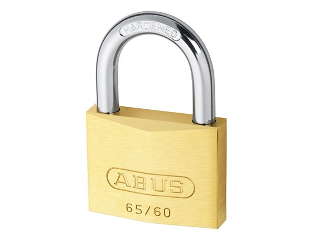 Abus 65/60 60mm Brass Padlocks